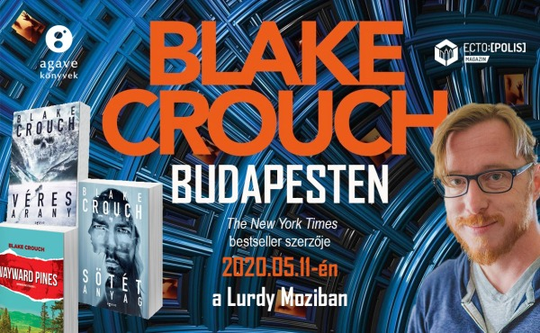 Blake Crouch dedikálás